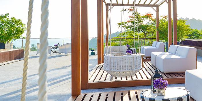 Logo of Vida Rooftop Bar in Patong, Thailand