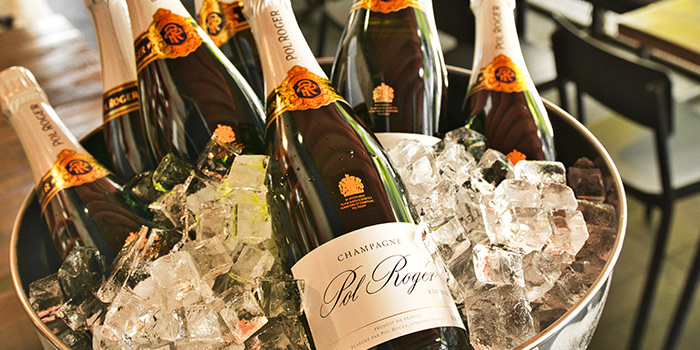 Pol Roger Brut Champagne from Bar-Roque Grill in Tanjong Pagar, Singapore