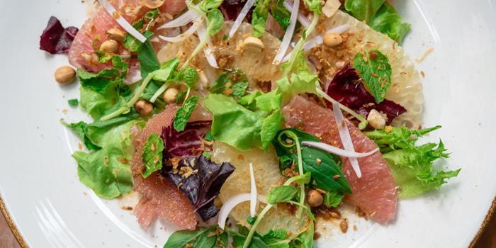 Pomelo Salad from Elefin at 3/250 Soi Mahadlekluang 2 Rajadamri Road, Patumwan Bangkok