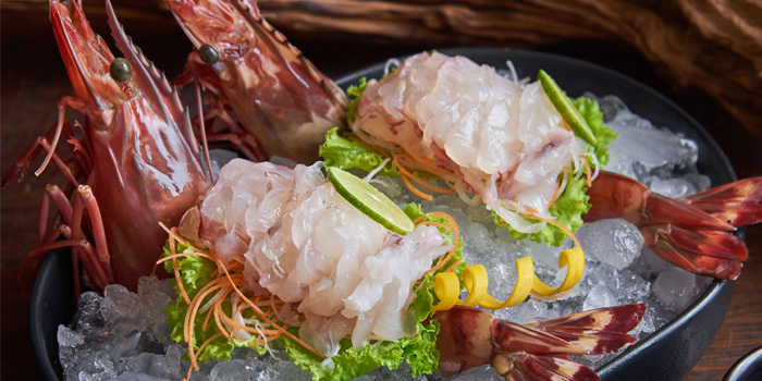 Prawn from Kan Eang@pier in Chalong, Phuket, Thailand