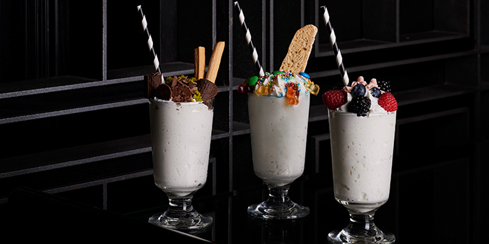 Boozy Milkshakes (glass) from Manhattan in Regent Singapore, Tanglin, Singapore