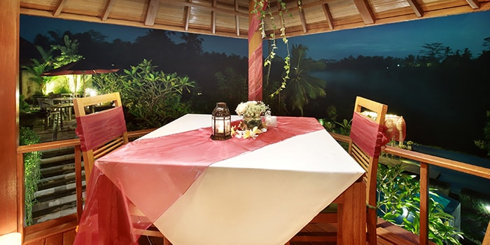 Romantic Dinner at the Amateras Ubud