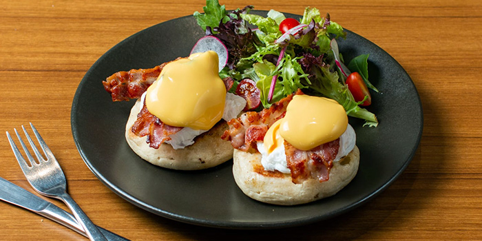 Eggs Benedict from 18 Hours @ Keong Saik in Keong Saik, Singapore