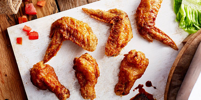 Signature Crispy Wings from 4Fingers Crispy Chicken (Changi Airport T3) in Changi, Singapore