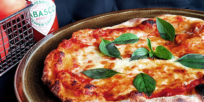 Magherita Pizza from 9th ave. in Woodlands, Singapore