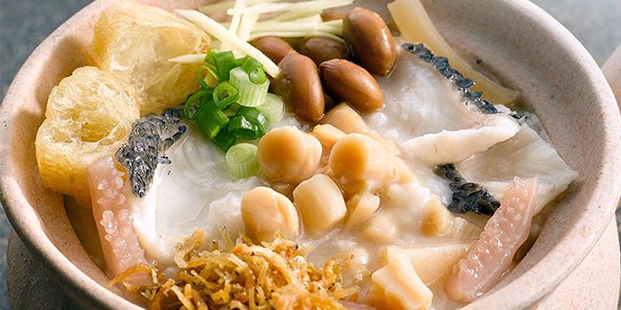 Premium Dried Scallop Porridge from A-One Signature (Changi Airport T3) in Changi, Singapore