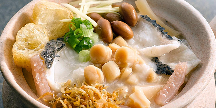 Premium Dried Scallop Porridge from A-One Signature (Changi Airport T3) in Changi, Singapore