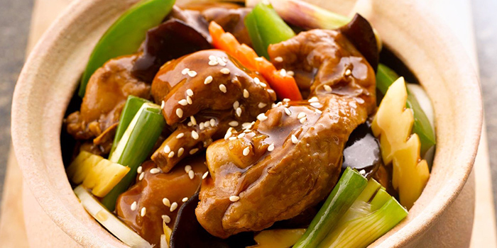 Sesame Oil Chicken from A-One Signature (Changi Airport T3) in Changi, Singapore