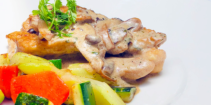 Chicken Scallopini from ALBA 1836 Italian Restaurant in Duxton, Singapore