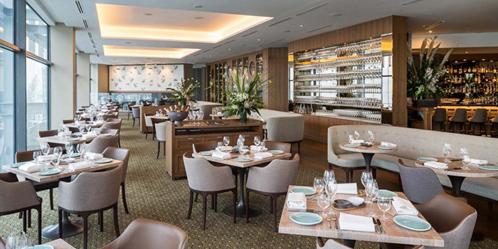 Interior of Artemis in Raffles Place, Singapore