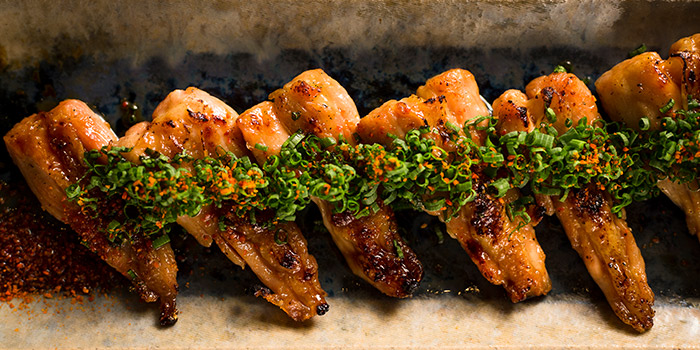 Chicken Necks from Bincho at Hua Bee in Tiong Bahru, Singapore