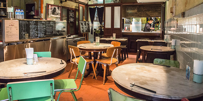 Dining Area of Bincho at Hua Bee in Tiong Bahru, Singapore