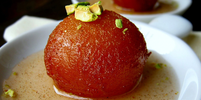 Gulab Jamun from CHILLAS Indian Restaurant in Buona Vista, Singapore