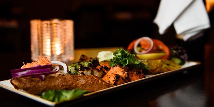 Kebab Kebab Platter from CHILLAS Indian Restaurant in Buona Vista, Singapore