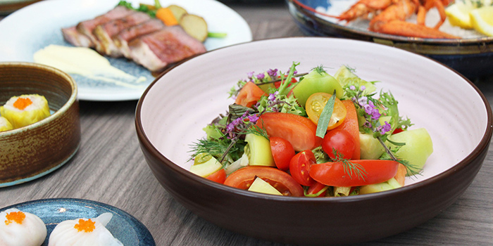 Fresh Tomato Salad from Clove at Swissotel The Stamford in City Hall, Singapore