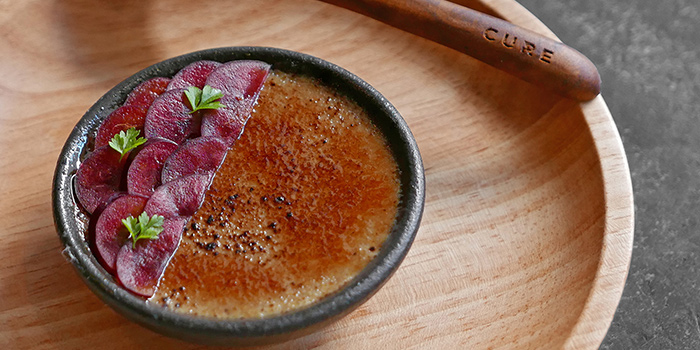 Foie Gras Brulee from Cure Singapore on Keong Saik Road, Singapore
