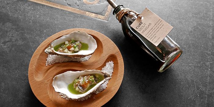 Irish Oyster Stout Vinegar from Cure Singapore on Keong Saik Road, Singapore