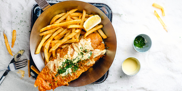 Best Fish & Chips from Fish & Co. (Paragon) in Orchard, Singapore