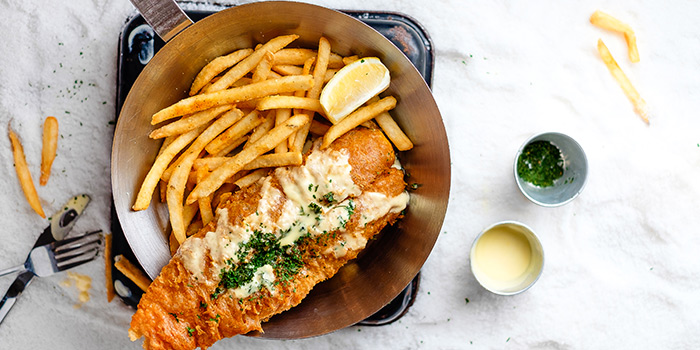 Fish & Chips from Fish & Co. (Raffles City) in City Hall, Singapore