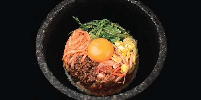 Ishiyaki Bimbimbap from Gyu-Kaku (CHIJMES) in City Hall, Singapore