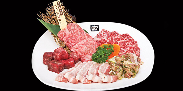 Recommended Platter from Gyu-Kaku (Marina Square) in Promenade, Singapore