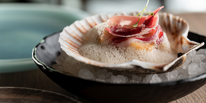 Fresh Scallop from La Cala at DUO Galleria in Bugis, Singapore