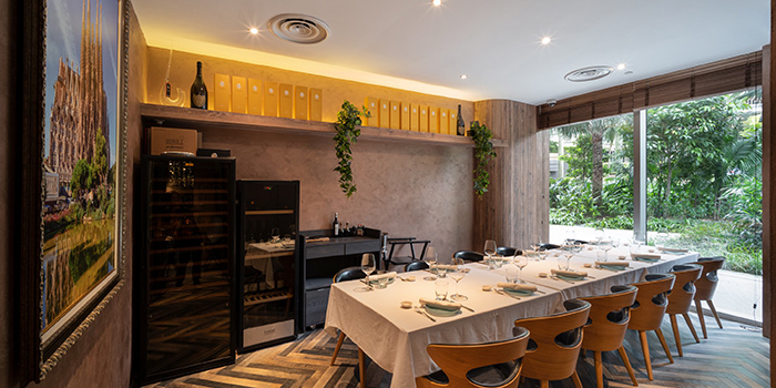Private Dining Room of La Cala at DUO Galleria in Bugis, Singapore