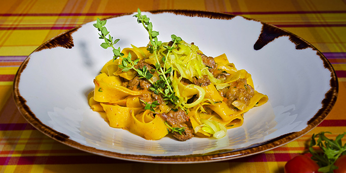 Homemade Pasta from Lafiandra Ristorante in Orchard, Singapore