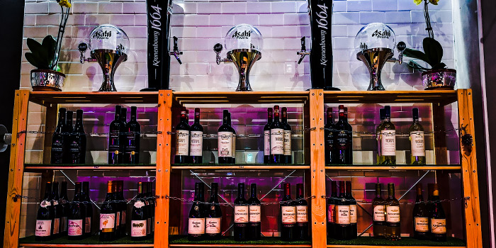 Wine Collection of One 2 Drink in Lavender, Singapore