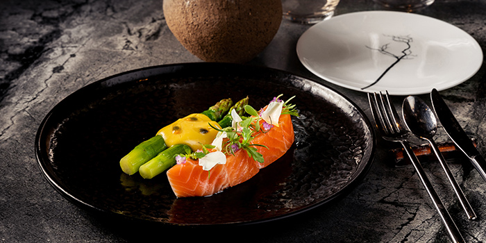 Ora King Salmone from Whitegrass in Chijmes, Singapore