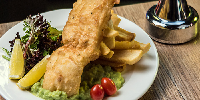 Fish & Chips from PONG Singapore in Clarke Quay, Singapore