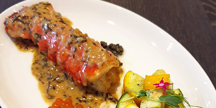 Kombu Sauce Lobster Tail  from O
