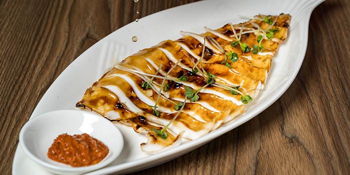 BBQ Squid from SHAO in Kembangan, Singapore
