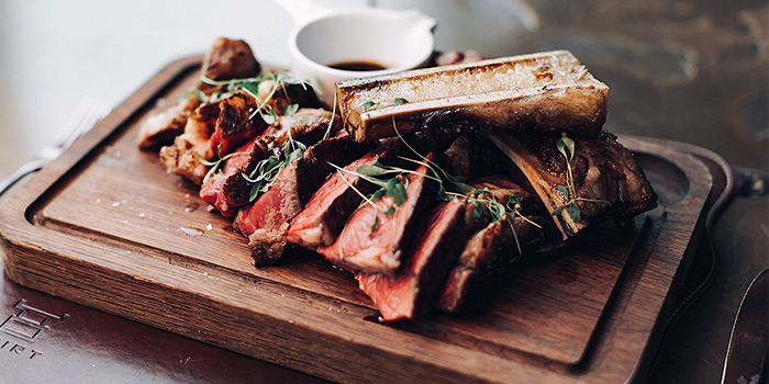 31-Days Aged Red Poll Cote De Boeuf from SKIRT in W Hotel in Sentosa, Singapore