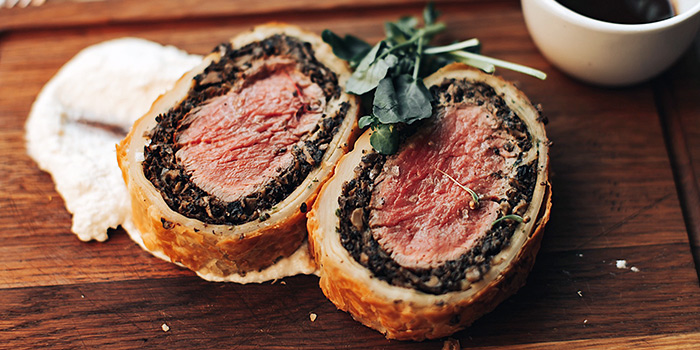 Beef Wellington from SKIRT in W Hotel in Sentosa, Singapore