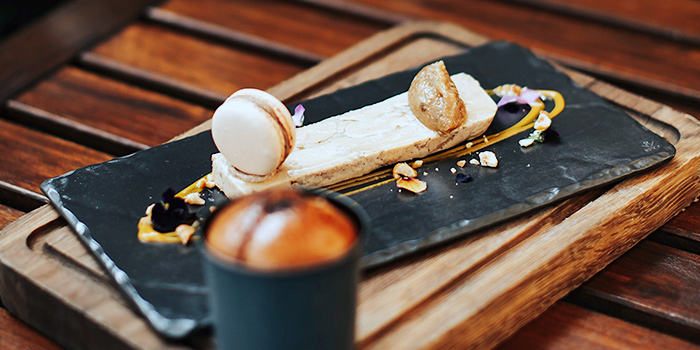 House-Made Foie Gras Terrine from SKIRT in W Hotel in Sentosa, Singapore