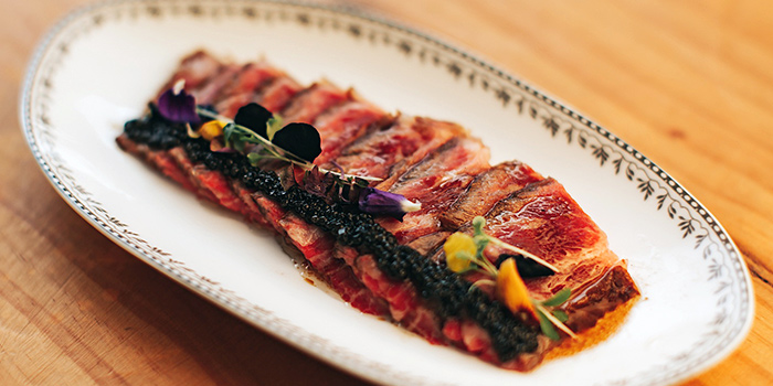 Wagyu Beef Tataki from SKIRT in W Hotel in Sentosa, Singapore
