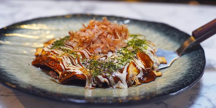 Okonomiyaki from Teppan Works in Tanjong Pagar, Singapore