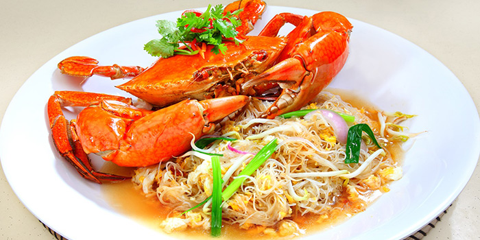 Bee Hoon Crab from Tian Wei Seafood in Yio Chu Kang, Singapore