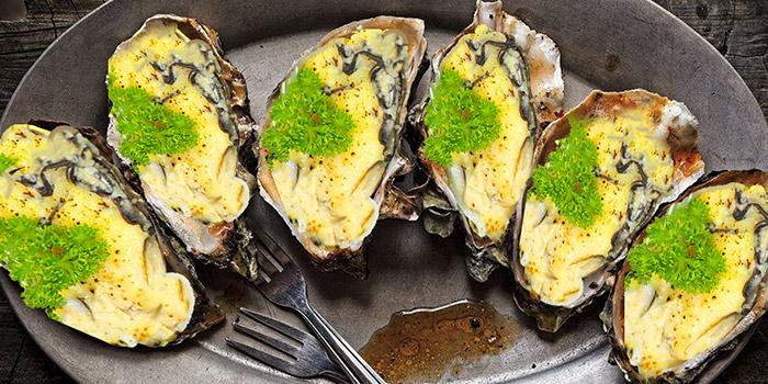 Pumpkin Cheese Oyster from Tian Wei Seafood in Yio Chu Kang, Singapore