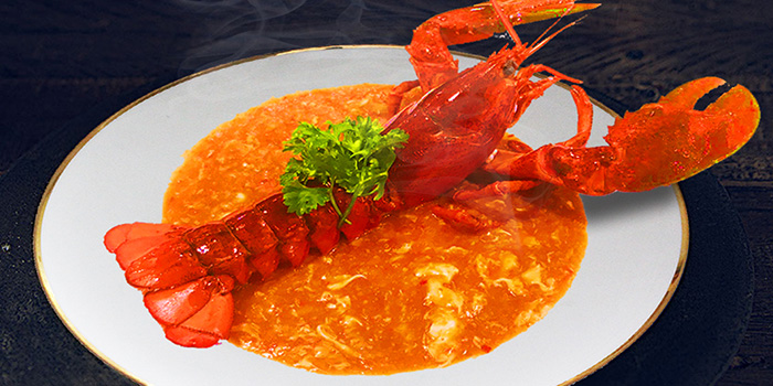 Signature Chilli Lobster from Tian Wei Seafood in Yio Chu Kang, Singapore