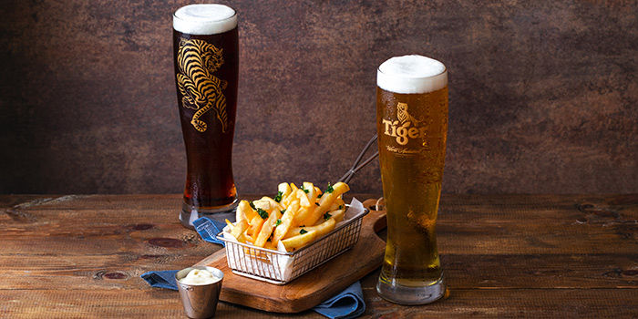 Truffle Fries from Tiger Street Lab at Jewel Changi Airport in Changi, Singapore