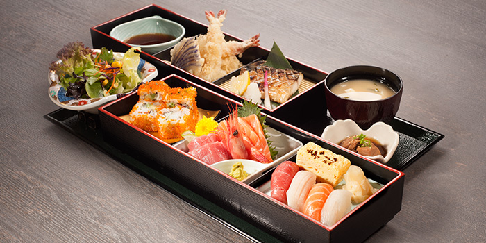 Bento from Kyoaji Dining in 111 Somerset in Orchard, Singapore