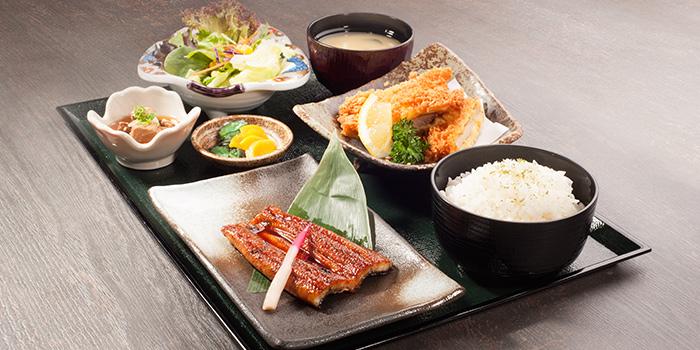 Unagi Tori Katsu Gozen from Kyoaji Dining in 111 Somerset in Orchard, Singapore