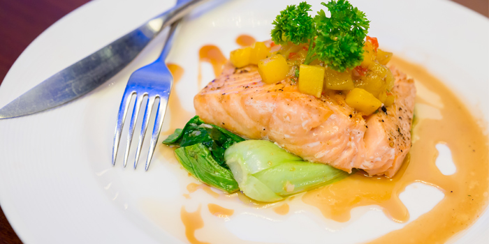 Salmon from Vista Restaurant in Patong, Phuket, Thailand