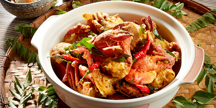 Salted egg Crab in a claypot (31 Jul) from Window on the Park in Holiday Inn Singapore Orchard City Centre in Orchard, Singapore