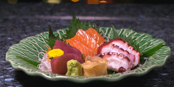 Sashimi Dishes from The Roof Gastro at Siam@Siam Design Hotel Bangkok 865 Rama 1 Road Wang Mai, Patumwan Bangkok