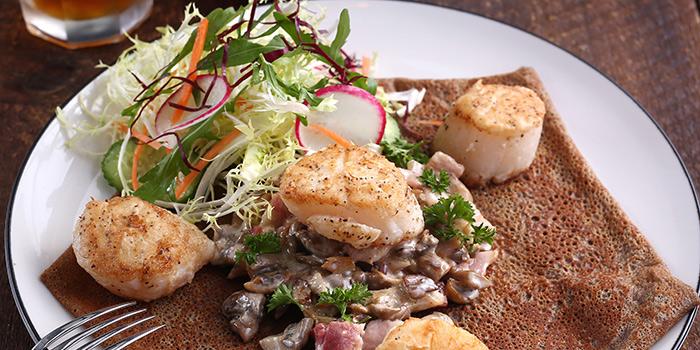 Scallops & Mushroom Galette, Odelice!, Tsim Sha Tsui, Hong Kong
