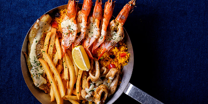 Seafood Platter from Fish & Co. (Waterway Point) in Punggol, Singapore
