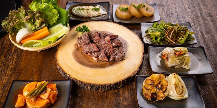 Selection of Food from Charm Korean Steakhouse at Novotel Bangkok Sukumvit 20 19/9 Soi Sukhumvit 20 Sukhumvit Rd, Khlong Toei Bangkok